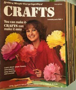 Crafts-Golden Hands Encyclopedia-Hobby-School-Furniture-Seasons-Toys-Vintage