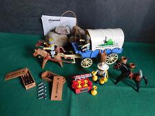 Playmobil ***Rarität*** Südstaatler/Planwagen 3785-A/1994, mit BA, ohne OVP!