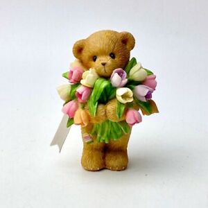 """Cherished Teddies 118825 Lawrence """"A Rainbow Of Wishes For You"""""""