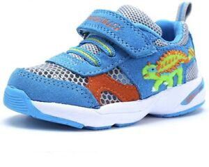 Boy & Girl Dinosaur Shoes Kids Dinoskulls Sneakers Toddlers' Leather Shoe