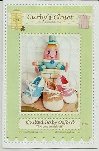 """""""Quilted Baby Oxford"""" Shoes - 2 sizes"""