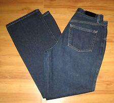 New York & Co Boot Cut Dark Blue Denim Jeans Womens Pants Size 8P Inseam 27.5