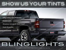 GMC Sierra Tinted Tail Lights Overlays Kit Smoked Lamps Protection Film Pair Set