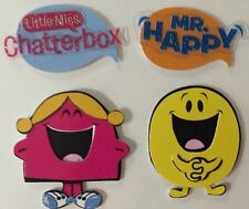 MR.MEN & LITTLE MISS Dimensional Stickers(8pc)Sandylion😃Little Miss Sunshine😃