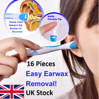 Easy Ear Wax Remover Cleaner Clean Swab Earwax Remove Spiral Earpick Soft Safe