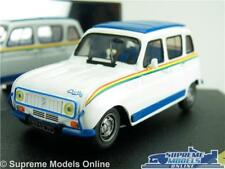 RENAULT 4 JOGGING MODEL CAR 1:43 SCALE VITESSE V98043 1981 WHITE K8