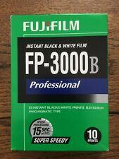 Rare Fuji FP-3000B Polaroid Pack Film. TESTED & WORKING!