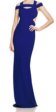 Nicole Miller New Off The Shoulder Cutout Gown Size 6 MSRP $565 #AN 846