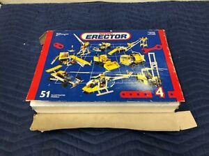 Vintage Meccano Erector Set Metal Construction Kit Motorized 51 Illustration