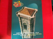 New Domus 3D Kit Bell Tower Giotto Florence Italy Cardboard Campanile Di Giotto