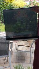 Thermo-plisado a medida blanco crema para todas las ventanas de montaje en la barra de vidrio