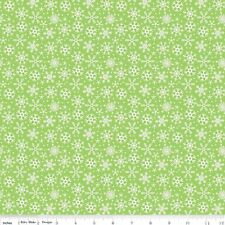 Riley Blake Santa Express C4725 Green 100% cotton Fabric by the yard
