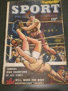 True Sport Picture Stories Vol. 2 #8  1.0 1944