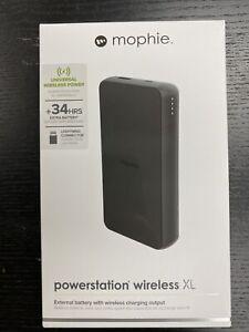 Mophie Powerstation Plus XL (10,000mAh) - Qi Wireless charging - Black