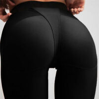 Women PUSH UP High Waist Yoga Leggings Fitness Gym Sports Pants Running Trousers