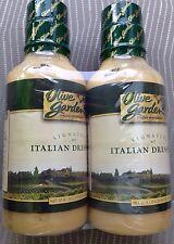 OLIVE GARDEN SIGNATURE ITALIAN SALAD DRESSING 2 X 20 OZ VALUE PACK GARLIC FOOD