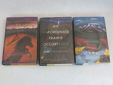 Jamie Harrison LOT OF THREE MYSTERIES One SIGNED 1stEd's HC/DJ