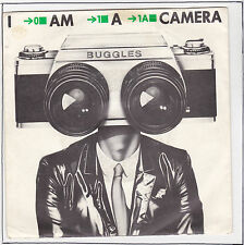 "BUGGLES Vinyle 45 tours SP 7"" I AM A CAMERA - FADE AWAY -CARRERE 49.814 F Reduit"