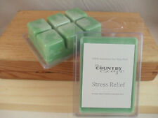 Stress Relief Scented Soy Wax Clamshell Melt Tart- 2wks of Fragrance