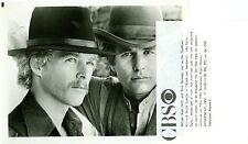WILLIAM KATT TOM BERENGER BUTCH AND SUNDANCE EARLY YEARS ORIG 1980 CBS TV PHOTO