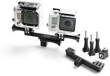 Splitter Teiler +Tripod Mount f. GoPro Go Pro HD HERO 1,2,3,3+ Zubehör Adapter
