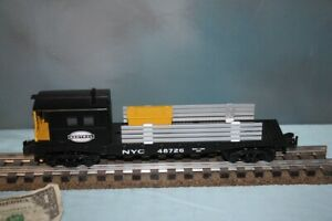 American Flyer No. 6-48726 New York Central Boom Car NEW S Gauge by Lionel