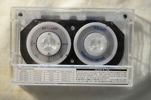 TEAC Cassette Traction Meter Test Tape MTT-8411 New