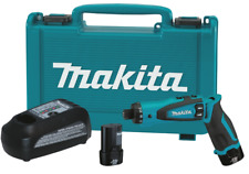 """Makita DF010DSE 7.2V Lithium‑Ion Cordless 1/4"""" Hex Driver‑Drill Kit with Auto"""