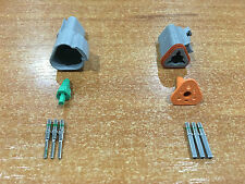 Deutsch DT 3-Way 3 Pin Electrical Connector Plug Kit