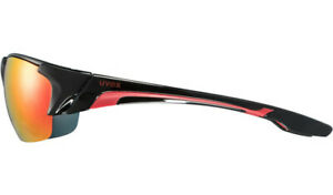 Uvex Blaze III 3 Mirror Cycling Sun Glasses Sunglasses Interchangeable Lens *NEW