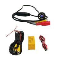 Auto Car Rear View Backup Camera Reverse 8 LED Night Waterproof Best Vision D0E8