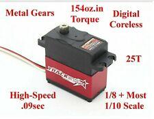 TS-411 MG DIGITAL SERVO 1/10 Traxxas Jato Slash Rally Stampede 4wd 2wd VXL Nitro