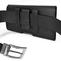 NEM Leather Belt Clip Pouch for Samsung Galaxy Note 10 Plus Fit Otterbox Case