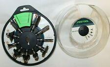 Festool 498979 Router Bit Set Box - OF HW 10X S8 Mix 10 Pieces - Free Ship