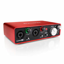 Focusrite Scarlett 2i2 2nd Generation USB Audio Interface - FOC-SC2I2