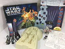 Star Wars Death Star Assault Game Board Game Parker Brothers Luke Vader leia