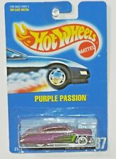 HOT WHEELS BLUE CARD COLLECTOR #87 PURPLE PASSION