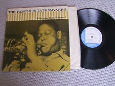 The Fabulous FATS NAVARRO  Vo1 LP BLUE NOTE LEXINGTON BLP 1531 US 2nd PRESS 1958