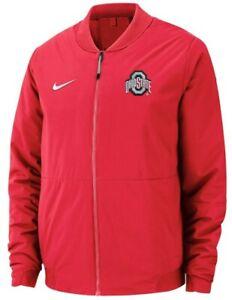 Nike Ohio State Buckeyes Bomber Jacket Mens Large NWT $200.00