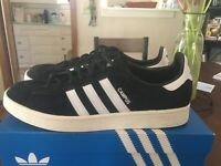 adidas Campus Sneakers Casual   Sneakers Black/White Men's - Size 10 D