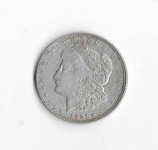 1921 Morgan Dollar (no mint mark) EF