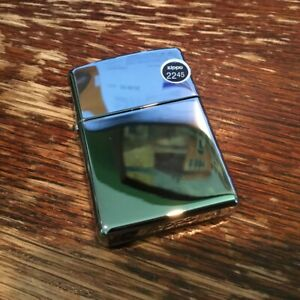 Genuine Zippo high polish solid brass windproof Lighter CASE ONLY No Insert//Box