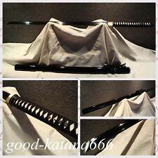 "TOP Quality Chinese Sword ""Tang Jian"" Black Carbon Steel Blade Full Tang Sword"