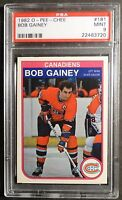 1982 O-PEE-CHEE BOB GAINEY #181 PSA  9 MONTREAL CANADIENS    (143)