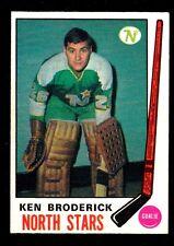 1969-70  OPC O PEE CHEE  # 197  KEN BRODERICK  RC  NRMT+   INV M1188