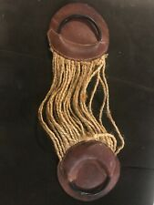 Vintage girth cinch leather and rope Early 20th Century - Good Condition