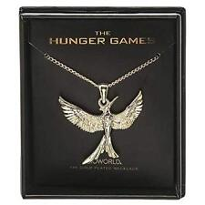 Hunger Games Mockingjay 14K Gold Plated Boxed Necklace