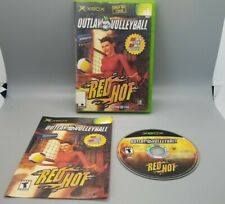 """""""Outlaw Volleyball : Red Hot"""" Xbox - CIB Blockbuster Exclusive - Tested"""