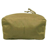 TACTICAL UTILITY POUCH LARGE POCKET MOLLE MODULAR SYSTEM AIRSOFT WEBBING COYOTE