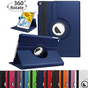 360 Rotating Leather Folio Case Smart Cover Stand for iPad 9.7'' 2018 6th 5th